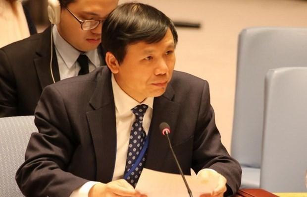 Vietnam exhorta a cumplir acuerdo de paz en Republica Centroafricana hinh anh 1