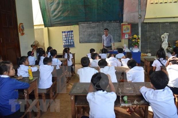 Camboya retrasa la reapertura de escuelas hasta finales de este ano hinh anh 1