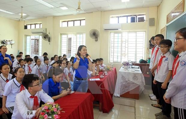 VNA aumenta la conciencia de estudiantes sobre noticias falsas hinh anh 1