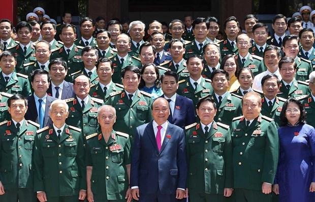 Premier vietnamita asiste al X Congreso de Emulacion de Comision Central Militar hinh anh 1
