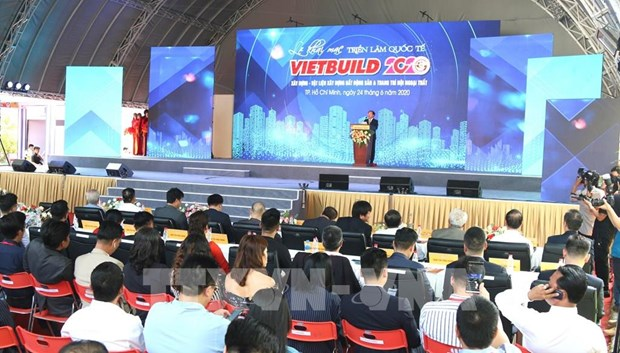 Nutrida participacion en Exposicion Internacional de la Construccion Vietbuild hinh anh 1