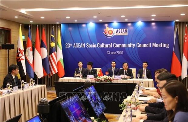 Respalda Laos plan de la ASEAN para desarrollar recursos humanos hinh anh 1