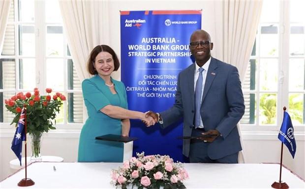Incrementan Australia y Banco Mundial apoyo a recuperacion economica de Vietnam hinh anh 1