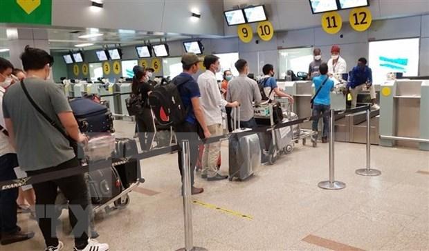 Repatrian a 343 vietnamitas de Taiwan (China) hinh anh 1