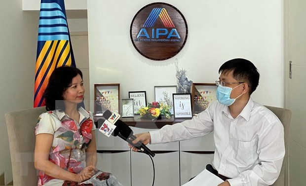 AIPA dispuesta a acompanar a la ASEAN en la construccion de una Comunidad solida hinh anh 1