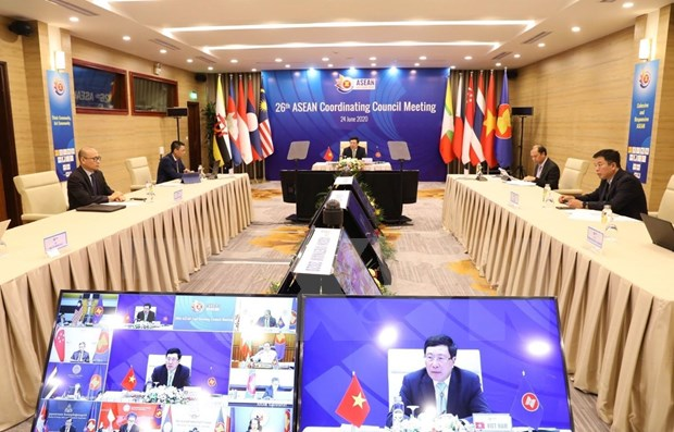 Efectuaran de forma virtual Cumbre 36 de ASEAN esta semana hinh anh 1