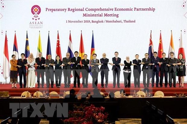 Destacan importancia de RCEP para recuperacion economica regional de Asia-Pacifico hinh anh 1