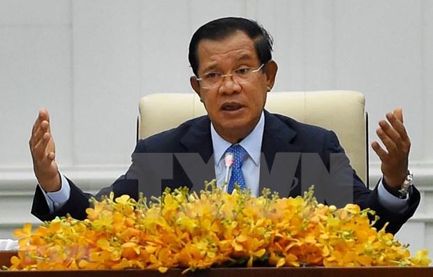 Premier de Camboya participara en la XXXVI Cumbre virtual de la ASEAN hinh anh 1