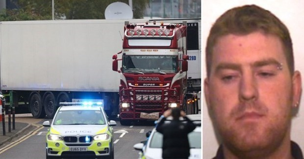 Otro conductor comparece ante tribunal por muerte de 39 vietnamitas en Reino Unido hinh anh 1