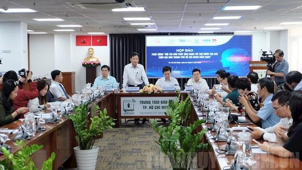 Lanzan en Ciudad Ho Chi Minh concurso de aplicacion de inteligencia artificial hinh anh 1