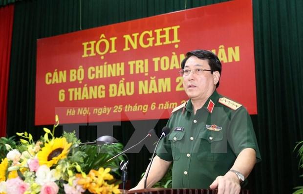 Fortalecen tareas politicas e ideologicas en el Ejercito Popular de Vietnam hinh anh 1