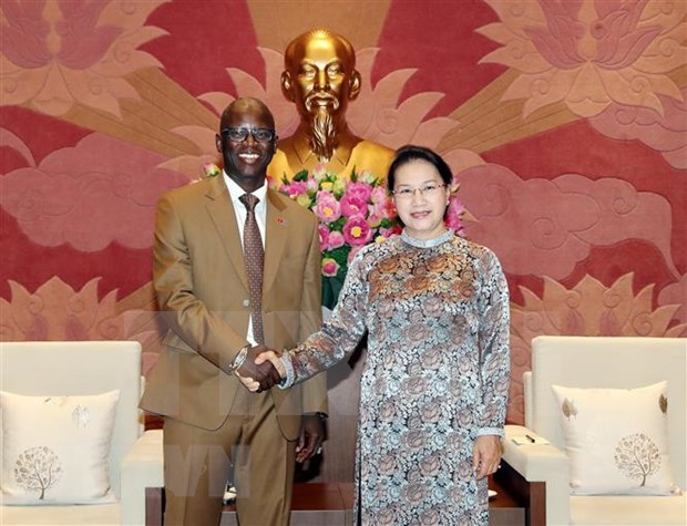 Maxima legisladora recibe al director del Banco Mundial en Vietnam hinh anh 1