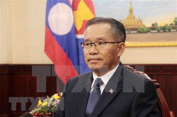 Laos aprecia papel de Vietnam como presidente rotativo de la ASEAN hinh anh 1