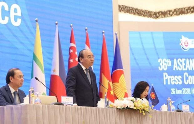 Divulga premier de Vietnam resultados de Cumbre 36 de ASEAN hinh anh 1