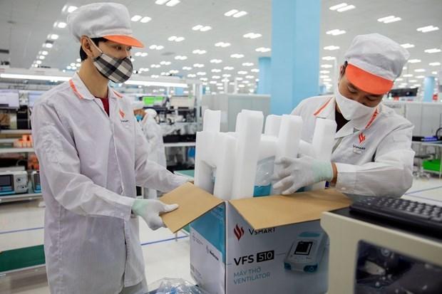 Ventilador pulmonar vietnamita recibe licencia del Ministerio de Salud hinh anh 1
