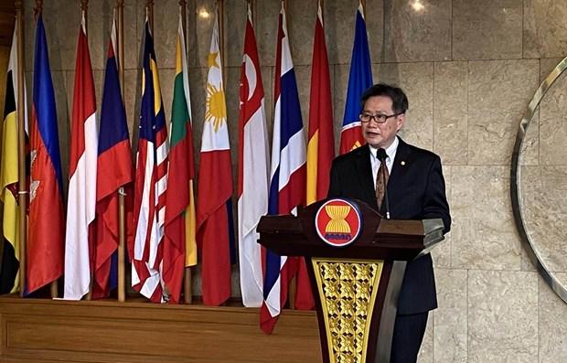 Secretario general de ASEAN aprecia papel de Vietnam como presidente rotativo del bloque hinh anh 1