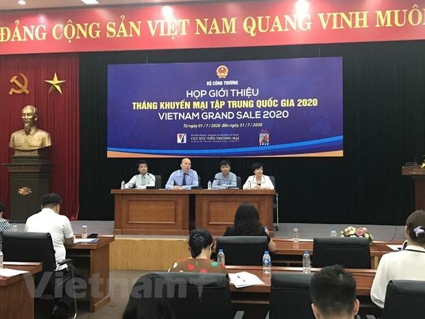 Celebrara en Vietnam mes nacional de rebajas en julio hinh anh 1
