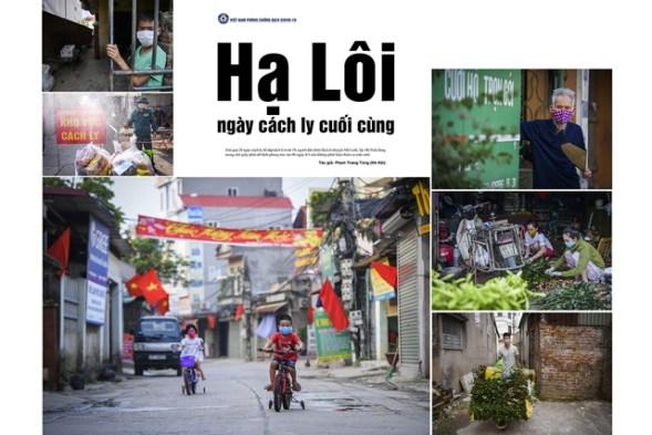 Exposicion resalta exito de Vietnam en la lucha contra COVID- 19 hinh anh 1