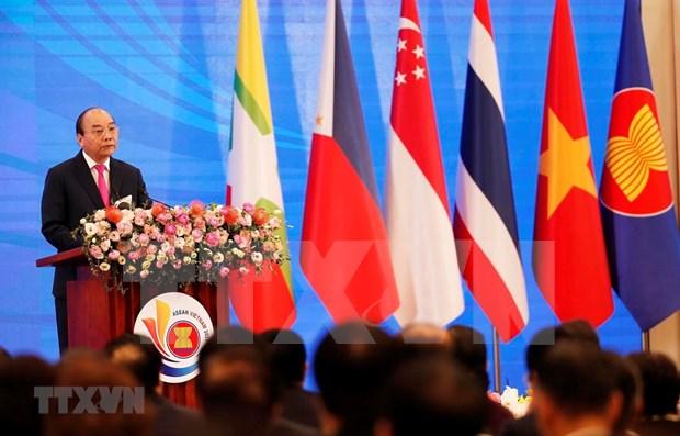 Emiten Declaracion del Presidente de la 36 Cumbre de la ASEAN hinh anh 1