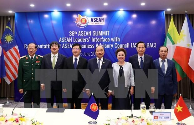 ASEAN 2020: Premier camboyano destaca necesidad de impulsar comercio regional hinh anh 1