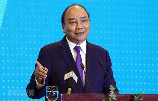 Premier vietnamita participa en conferencia ¨Hanoi 2020- Cooperacion, Inversion y Desarrollo¨ hinh anh 1