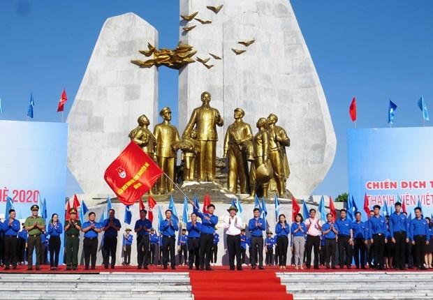 Lanzan en provincia vietnamita campana veraniega de jovenes voluntarios hinh anh 1
