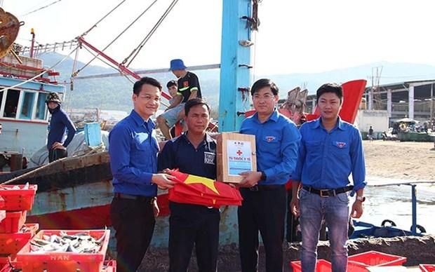 Promueven actividades voluntarias de verano en ciudad vietnamita de Da Nang hinh anh 1