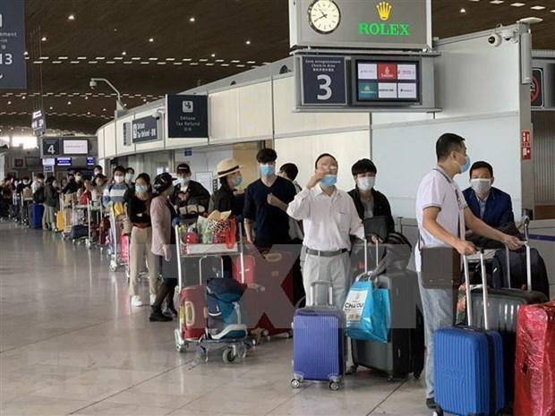 Repatrian a mas de 280 ciudadanos vietnamitas varados en Europa hinh anh 1