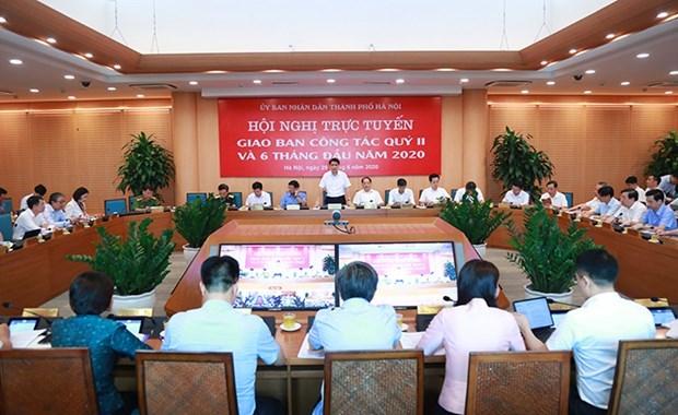 Hanoi desarrolla dos escenarios de crecimiento para segunda mitad de 2020 hinh anh 1