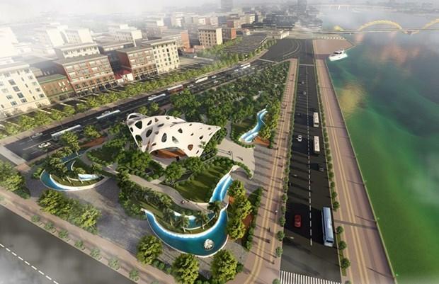 Ciudad vietnamita de Da Nang por expandir el parque de esculturas APEC hinh anh 1