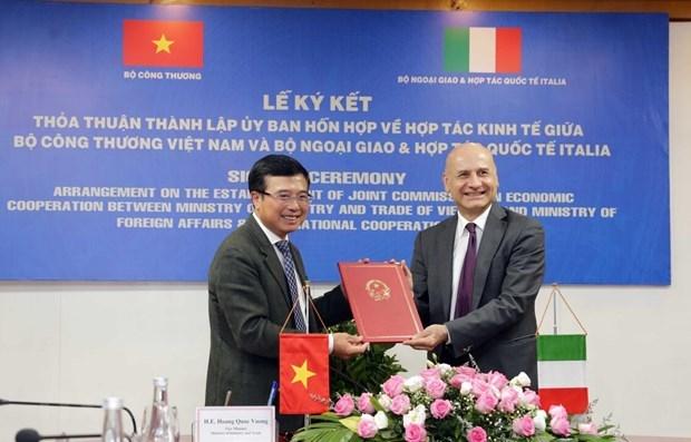 Vietnam e Italia forman Comision Conjunta sobre Cooperacion Economica hinh anh 1