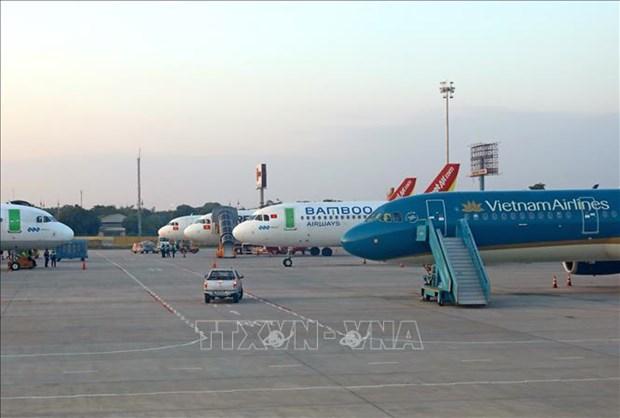 Sopesa Vietnam reapertura de vuelos a paises con control efectivo del COVID-19 hinh anh 1