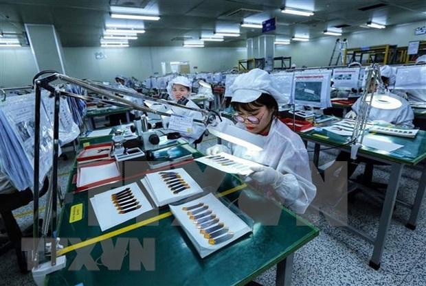 Superavit comercial de Vietnam alcanza cuatro mil millones de dolares en primera mitad del ano hinh anh 1