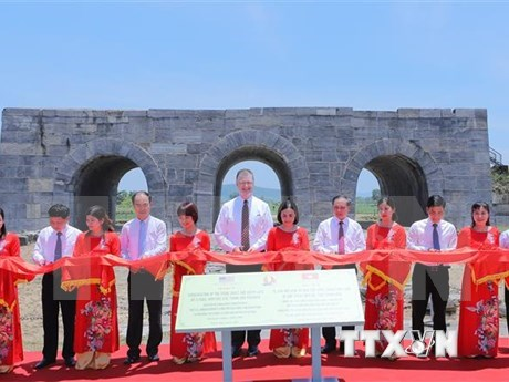 Finalizan proyecto de restauracion de Ciudadela de dinastia Ho hinh anh 1