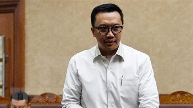 Indonesia sentencia a exministro por soborno hinh anh 1