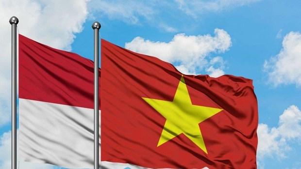 Lanzan concurso de logotipos para conmemorar lazos diplomaticos Vietnam-Indonesia hinh anh 1