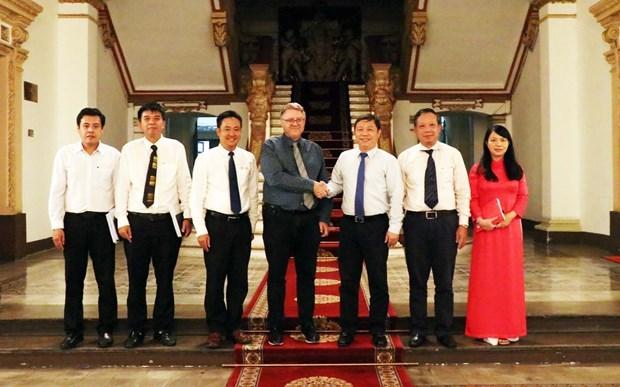 Ciudad Ho Chi Minh impulsa la cooperacion con Dinamarca hinh anh 1
