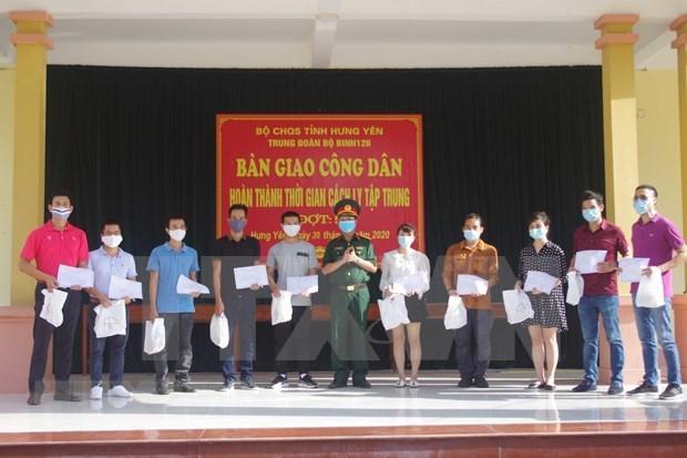 COVID-19: Vietnam libre de contagio local por 76 dias consecutivos hinh anh 1