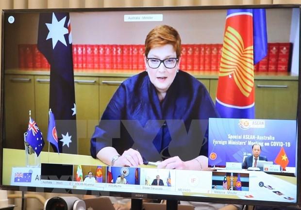 ASEAN y Australia cooperan en combate contra la pandemia de COVID-19 hinh anh 1