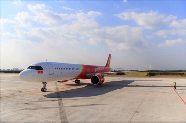 "Honrada Vietjet Air con titulo ""Contrato de arrendamiento operativo del ano"" hinh anh 1"