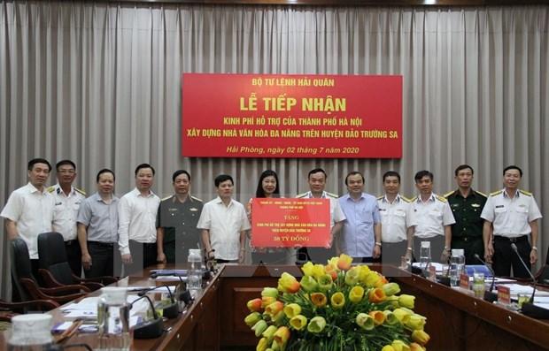 Hanoi respalda construccion de casa cultural multifuncional en Truong Sa hinh anh 1