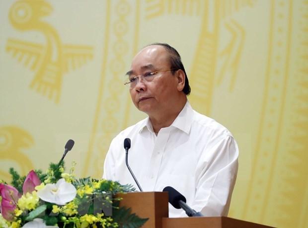 Premier de Vietnam exige maximizar esfuerzos para la recuperacion economica hinh anh 1