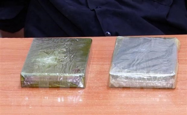 Confiscan gran cantidad de droga en el este de Myanmar hinh anh 1