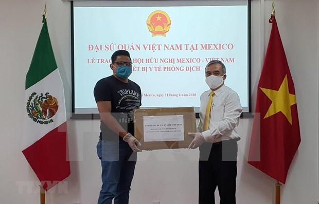 Gobernador del estado mexicano de Guerrero agradece a Vietnam el apoyo contra el COVID-19 hinh anh 1