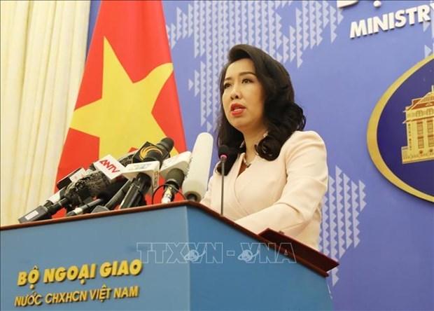 Vietnam rechaza accion ilegal de China en su zona maritima hinh anh 1