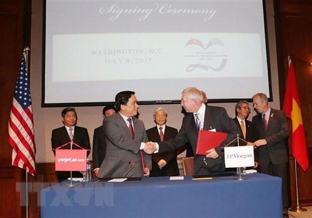 Vietnam y EE.UU. celebraran 25 anos de relaciones de manera flexible, afirma portavoz de Cancilleria hinh anh 1