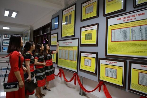Exhibicion demuestra soberania vietnamita sobre archipielago Hoang Sa y Truong Sa hinh anh 1