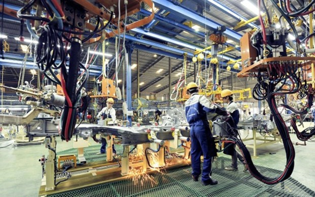 Elevado pronostico de crecimiento del PIB de Vietnam para 2020 hinh anh 1