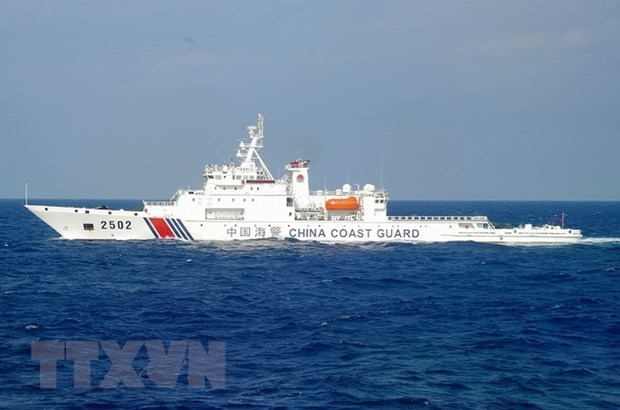 Estados Unidos se opone a los ejercicios de China en Mar del Este hinh anh 1