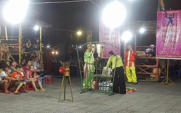 Efectuaran en ciudad vietnamita de Da Nang Festival de Cantos Folcloricos hinh anh 1